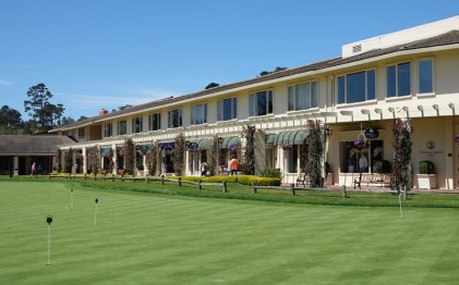 17-Mile Drive - Pebble Beach Golf - Hôtel et putting green