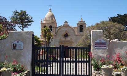 Carmel - Mission San Carlos Borromeo (on ne l'a pas visitée)