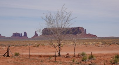 Monument Valley - Non loin du Goulding's Lodge