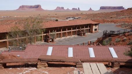 Monument Valley - Goulding's Lodge - Vue depuis la chambre