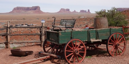 Monument Valley - Goulding's Lodge - Devant le Trading Post