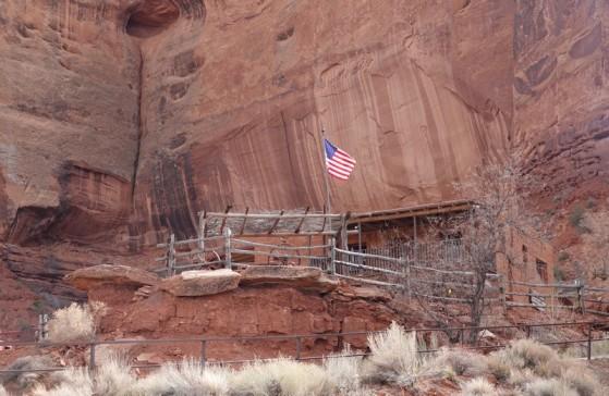 Monument Valley - Goulding's Lodge - Trading Post d'origine aujourd'hui reconverti en musée