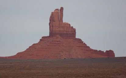 Coucher de soleil sur Monument Valley