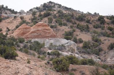 Sur la route, entre Monument Valley et Page