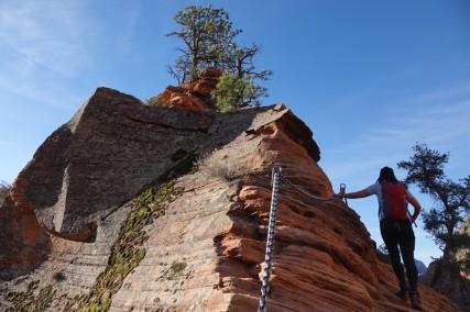 Parc national de Zion - Angels Landing Trail