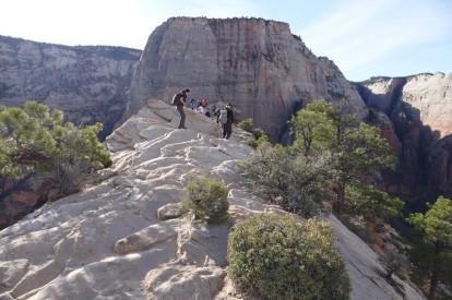 Parc national de Zion - Angels Landing Trail - Enfin le sommet !