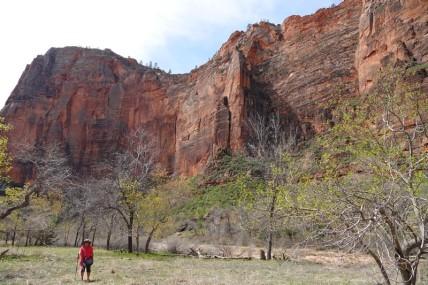 Parc national de Zion - Balade depuis Temple of Sinawava jusqu'à Big Bend