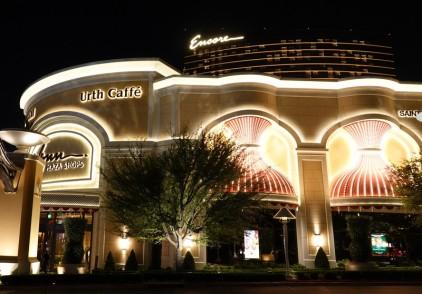 Las Vegas by night - The Wynn