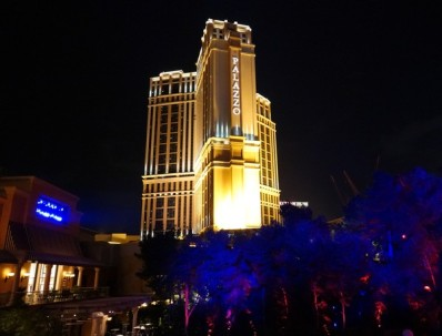 Las Vegas by night - The Wynn