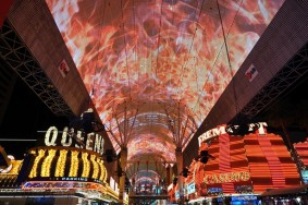Las Vegas by night - The Wynn - Fremont Street
