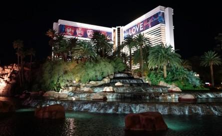 Las Vegas by night - Mirage
