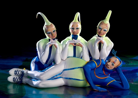 Las Vegas - Cirque du Soleil - Mystère - Photo internet (service de presse)