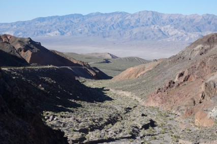 En quittant le Death Valley National Park vers Ridgecrest (2nde vallée)