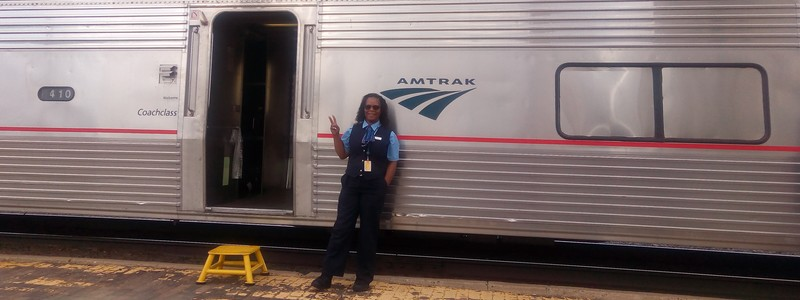 45 heures de train, à bord du Southwest Chief, pour rallier Los Angeles à Chicago !