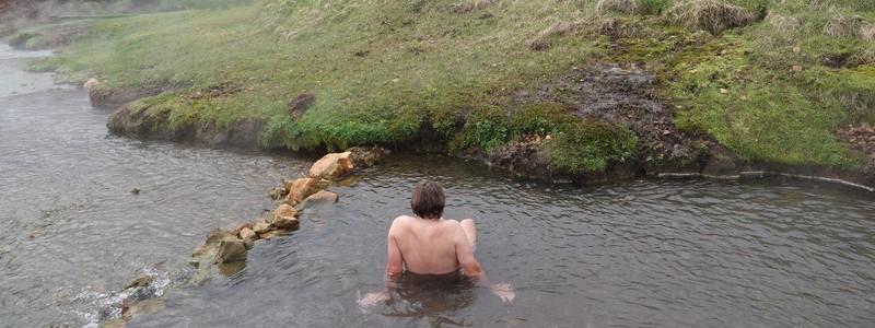 De la rivière chaude de Reykjadalur au musée en plein air de Reykjavik, encore une superbe journée bien remplie!