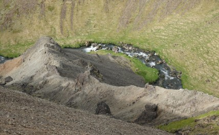Vallée de Reykjadalur - Impressionant à pic...