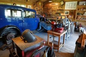 Reykjavík - Árbæjarsafn / Árbær Open Air Museum - Garage