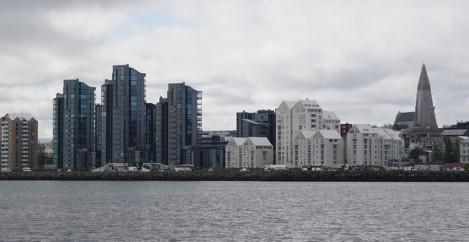 Reykjavik - Quartiers mordernes du front de mer