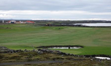 Vers Grindavik - Golf