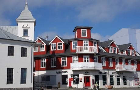 Reykjavik - Vers le port