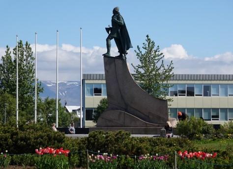 Reykjavik - Statue de Leif Erikson