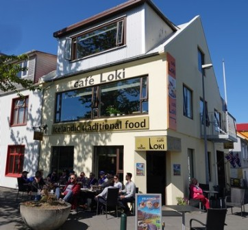 Reykjavik - Café Loki