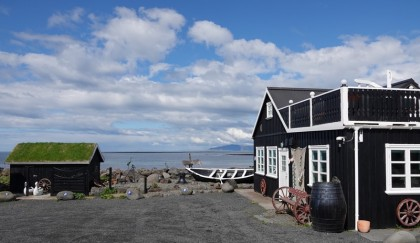 Presqu'ile non loin de Garðabær - Ancien village de pêcheurs
