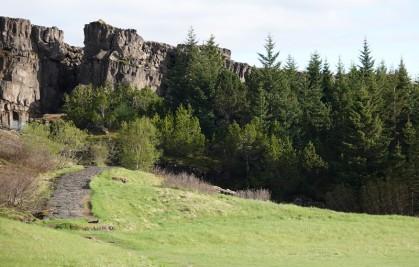 Cercle d'Or - Parc national de Þingvallavatn - Vue sur la faille