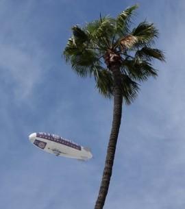 Los Angeles - Vu dans le ciel, juste au-dessus deUnion Station