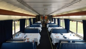 Train Los Angeles / Chicago - Soutwest Chief - Wagon restaurant