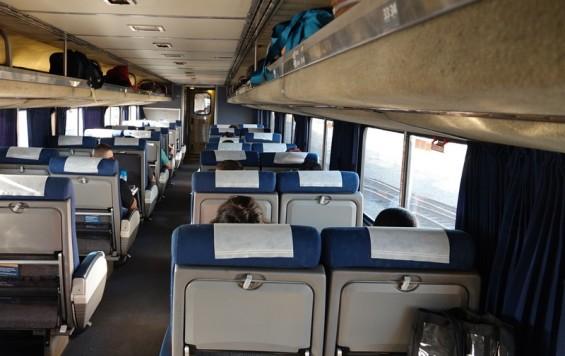 Train Los Angeles / Chicago - Soutwest Chief - Notre wagon !