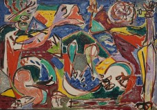 Art Institute of Chicago - Jackson Pollock