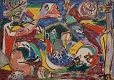 Art Institute of Chicago - Jackson Pollock