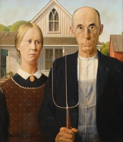 Art Institute of Chicago - Grant Wood