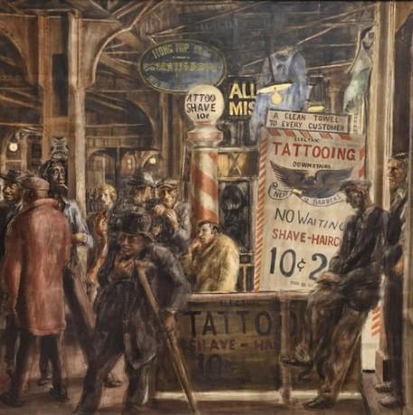 Art Institute of Chicago - Reginald Marsh