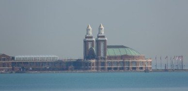 Chicago - Au bord du lac Michigan - Zoom sur le Navy Pier