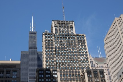 Chicago - The Loop - La Willis Tower, au second plan
