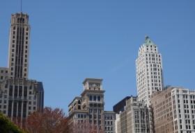 Chicago - Vue depuis le Millenium Park