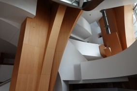 Los Angeles Downtown - Walt Disney Concert Hall - Intérieur