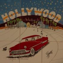 Los Angeles - Hollywood - Station de métro Hollywood / Vine