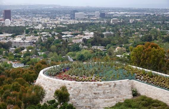 Los Angeles - Vue sur les environs depuis le Getty Center