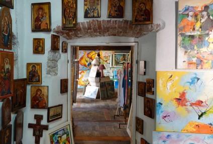 Krk - Jolie galerie de peintures
