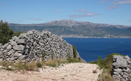 Balade à vélo vers Trogir - Oui, la côte est raide !