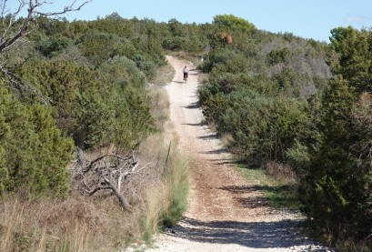 Balade à vélo vers Trogir - Un peu de descente, ça fait du bien !