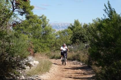 Balade à vélo vers Trogir