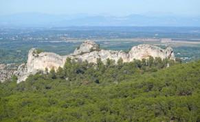 Balade à vélo des Baux de Provence à Saint Rémy, par le GR