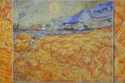 Saint Rémy de Provence - Monastère de Saint Paul de Mausole - Van Gogh (reproduction)