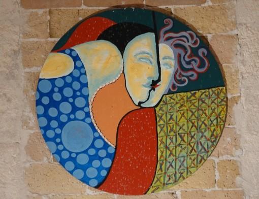 Saint Rémy de Provence - Monastère de Saint Paul de Mausole - Expo d'artistes