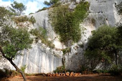 Saint Rémy de Provence - Balade à pied vers les Deux Trous