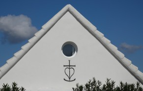 Les Saintes Maries de la Mer - Cabane de guardians - Zoom sur la Croix de Camargue